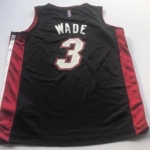 Wade NBA Heat fanatics sz M kids jersey